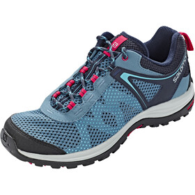Salomon Ellipse Mehari Chaussures Femme, phantom/navy blazer/virtual pink